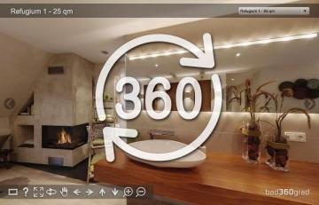 Kundenbäder in 360 Grad