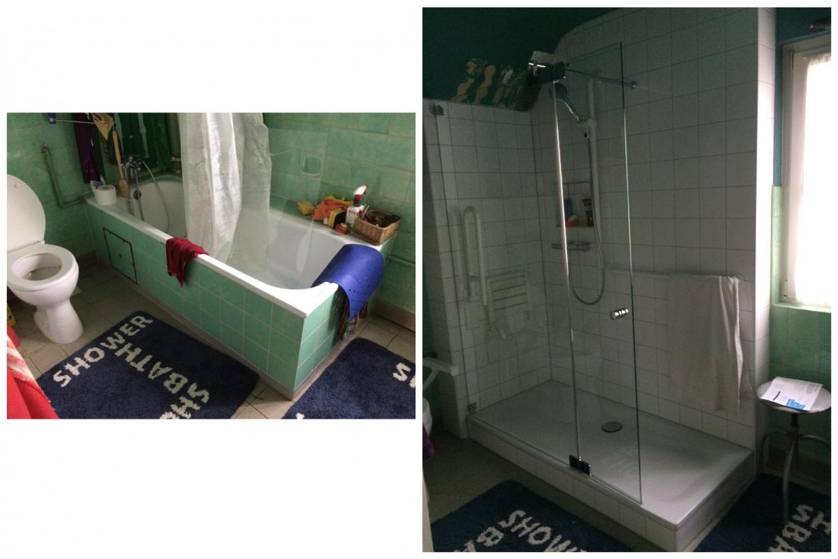 Bodengleiche Dusche anstatt Duschwanne